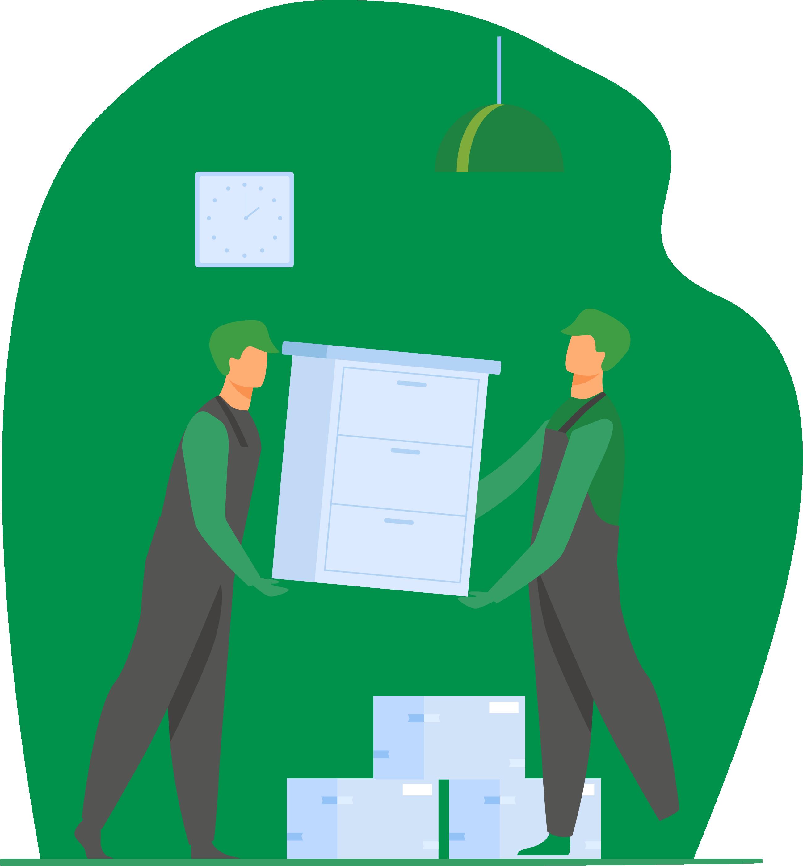 Illustration aménagement de mobiliers